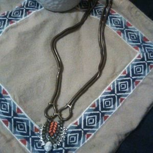 Tribal  robe necklace